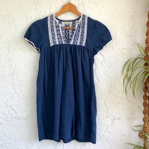 Anthropologie Theme embroidered top size small